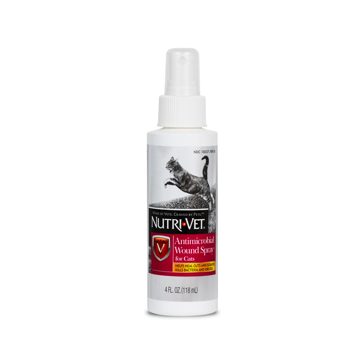 Anti-Microbial Wound Care Spray for Cats - Front