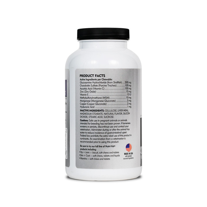 Hip & Joint Regular Strength Chewable Tablets