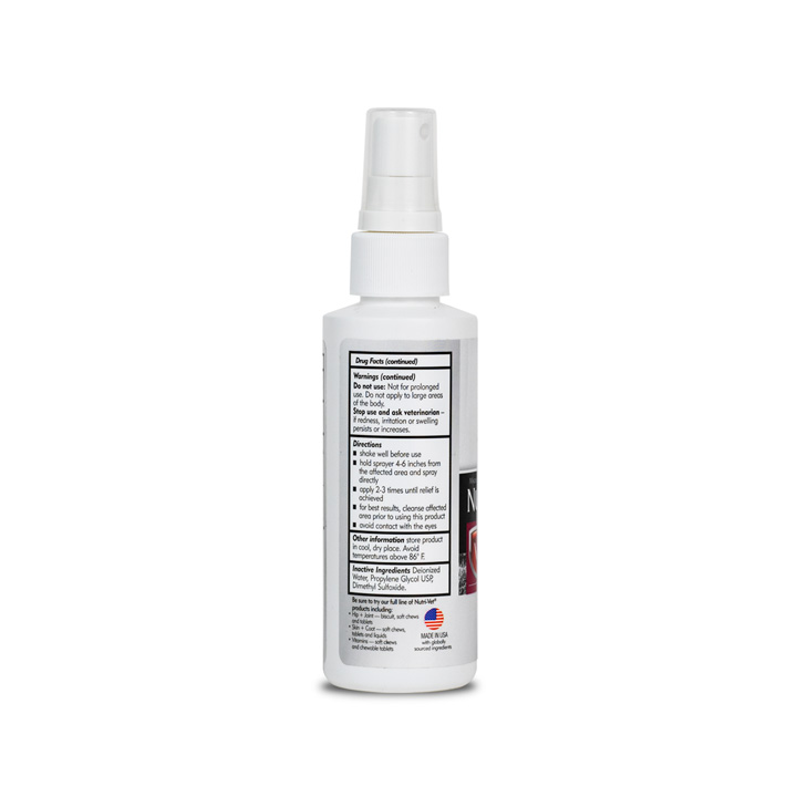 Hydrocortisone Spray - Back