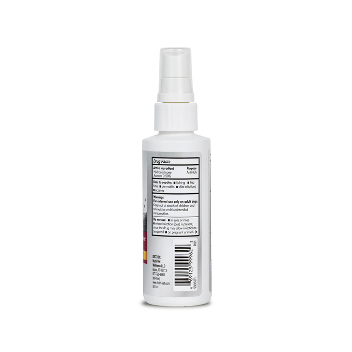 Hydrocortisone Spray - Side